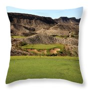 Black Jack's Crossing Golf Course Hole 13 Throw Pillow
