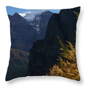 Blazing Larch Throw Pillow