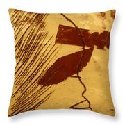 Bless - Tile Throw Pillow
