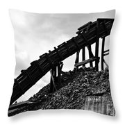 Blood, Sweat, And Tears Throw Pillow