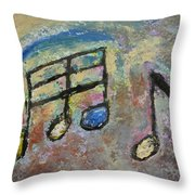 Blue Note Throw Pillow