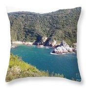 Blue Water  Throw Pillow