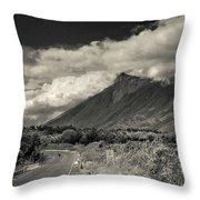Bnw Volcan De Fuego - Sacatepequez Throw Pillow