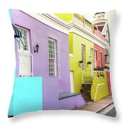 Bo Kaap 1 Throw Pillow