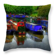 Boat Life Throw Pillow