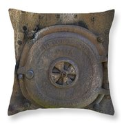 Boiler Tank Throw Pillow