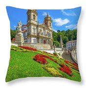 Bom Jesus Do Monte Braga Throw Pillow