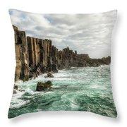 Bombo Headland Quarry At Kiama, Australia Throw Pillow