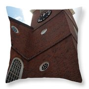 Boston Historical Meeting Room Throw Pillow