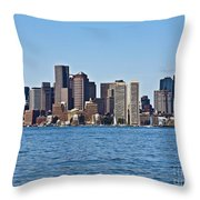Boston Mar142 Throw Pillow