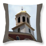 Boston Old State House Throw Pillow