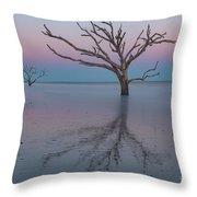 Botany Bay Sunset Throw Pillow