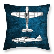Boulton Paul Defiant Throw Pillow