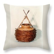 Bound And Unified In Contrast Throw Pillow