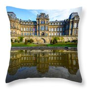 Bowes Museum Throw Pillow