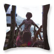 Boys Will Be Boys Throw Pillow