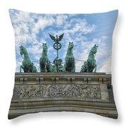 Brandenburger Gate, Berlin Throw Pillow
