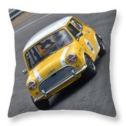 Brands Hatch Mini Festival Throw Pillow