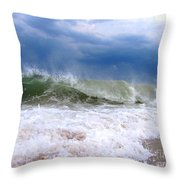 Breaking Throw Pillow