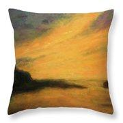 Breakwater Sunset Throw Pillow