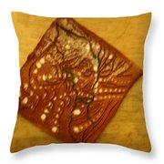Breathe - Tile Throw Pillow