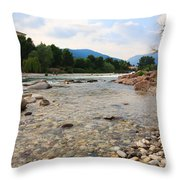 Brenta River Throw Pillow