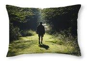 Bretzfelder Memorial Park - Bethlehem New Hampshire Throw Pillow
