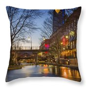 Bricktown Throw Pillow