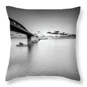 Bridge Throw Pillow by Okan YILMAZ