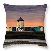 Brightlingsea Essex  Throw Pillow