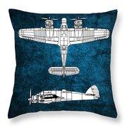 Bristol Beaufighter Throw Pillow