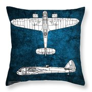 Bristol Blenheim Throw Pillow