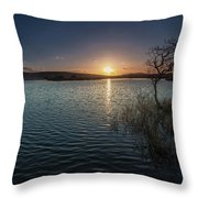 Broad Pool North Gower Throw Pillow