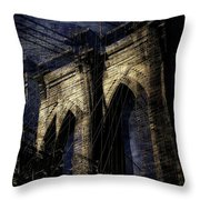 Brooklyn Shakes Throw Pillow