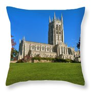 Bryn Athyn Cathedral Pennsylvania Throw Pillow