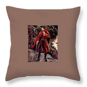 bs-ahp- Andrew Wyeth- The British Way Andrew Wyeth Throw Pillow