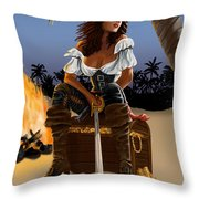 Buckling The Swash Throw Pillow