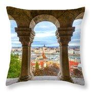 Budapest - Hungary Throw Pillow
