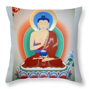 Buddha Kashyapa Throw Pillow