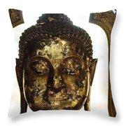 Buddha Sculpture Throw Pillow