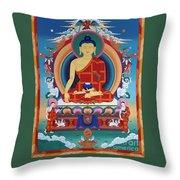 Buddha Shakyamuni Throw Pillow