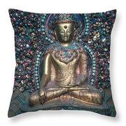 Buddhist Deity Throw Pillow