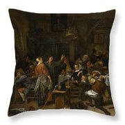 Budget Day Throw Pillow