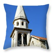 Budva, Montenegro  Throw Pillow
