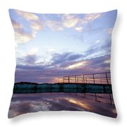 Bulli Pool Throw Pillow