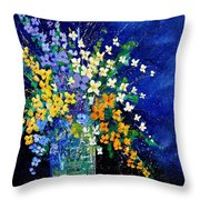 Bunch 0140 Throw Pillow