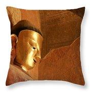 Burmese Buddha Throw Pillow