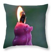 Burn 6 Throw Pillow