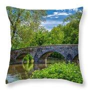 Burnside Bridge, Antietam Throw Pillow