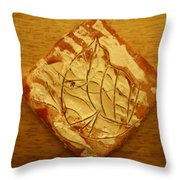 Butterfly - Tile Throw Pillow